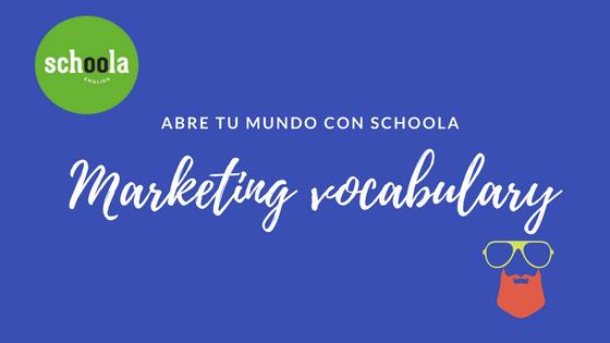 Vocabulario de marketing en Inglés