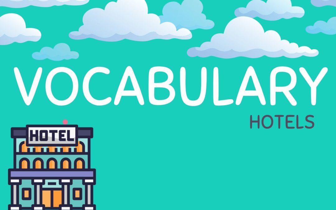 Vocabulario hoteles